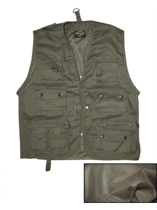 HUNTING AND FISHING VEST MESH LINING