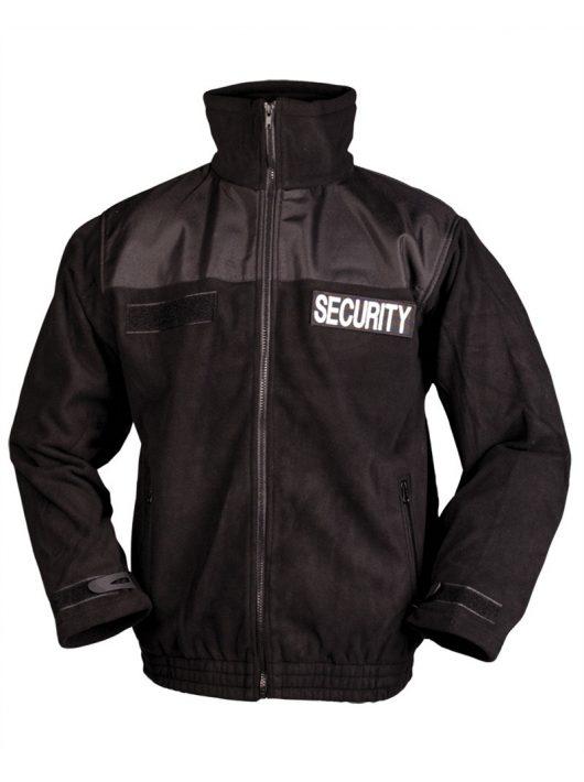 SECURITY BLACK FLEECE JACKET