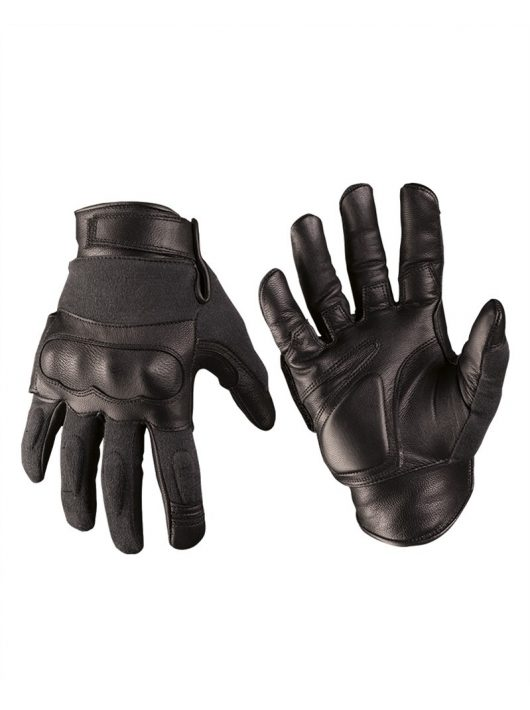 LEATHER/ARAMIDE TACTICAL GLOVES