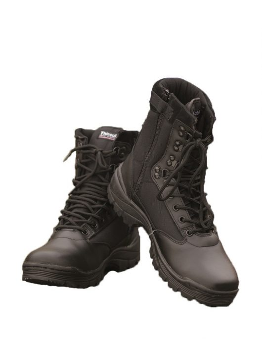 TACTICAL BOOTS WITH YKK ZIPPER