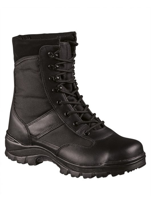 SECURITY BLACK BOOTS