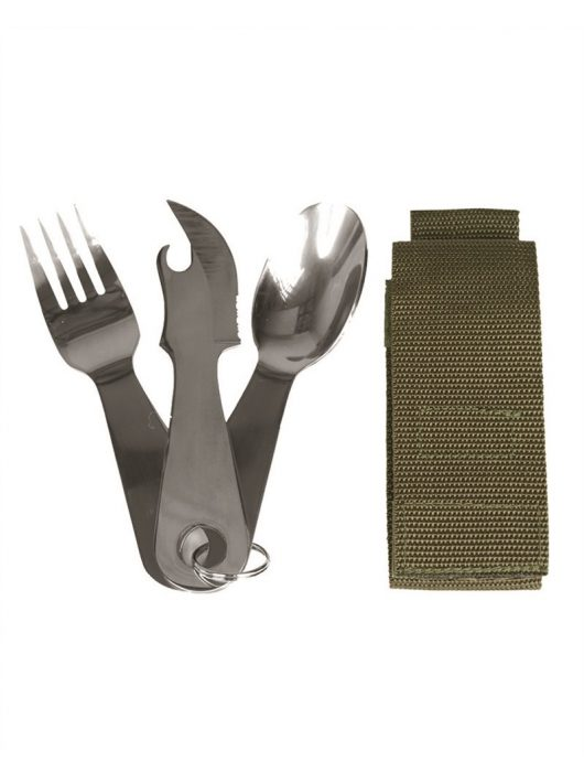 EATING UTENSIL STAINLESS STEEL WITH POUCH