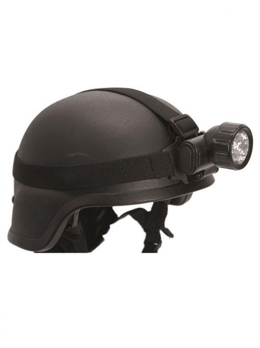 BLACK 12 LED HEADLIGHT
