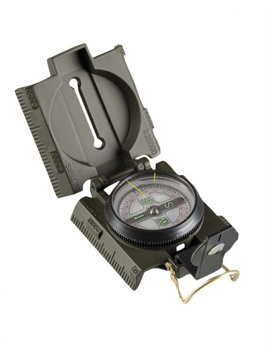 US OD METAL COMPASS WITH LED LIGHT