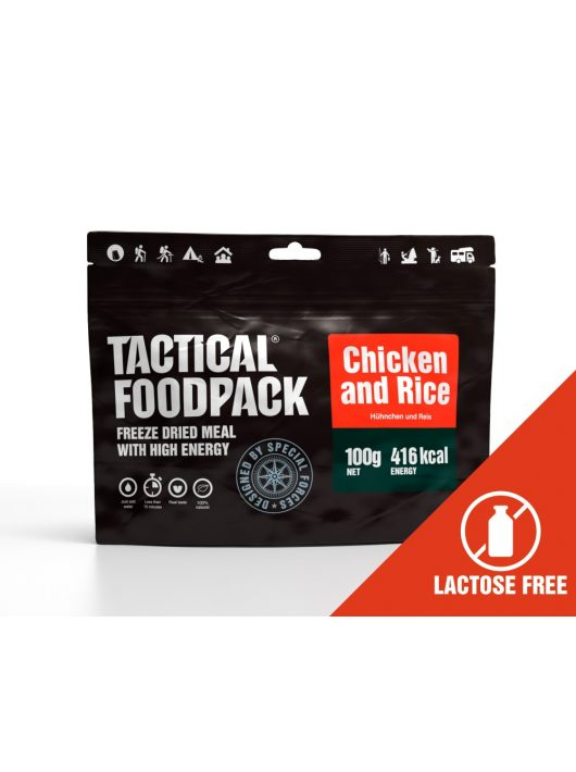 TACTICAL FOODPACK® Csirkehús rizzsel