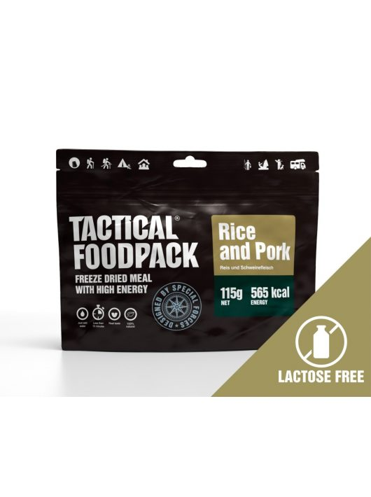 TACTICAL FOODPACK® Sertéshús rizzsel