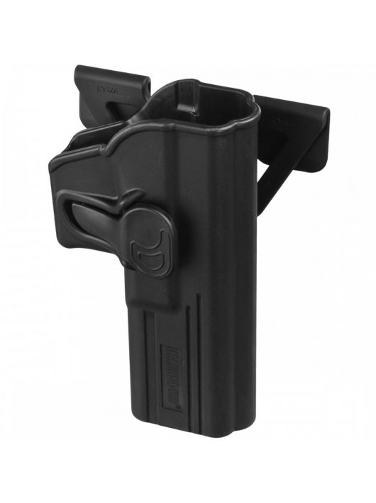 Helikon-Tex® - Release Button Holster for Glock 17 with Molle Attachment - Military Grade Polymer