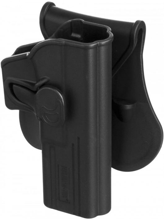 Helikon-Tex® - Release Button Holster for Glock 17 with Paddle - Military Grade Polymer